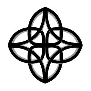 Dara Celtic Knot - Signifying oak roots, symbol of inner strength.