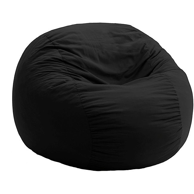 Black bean bag chair... could end up being used by Silver too, so easy to clean would be helpful!
