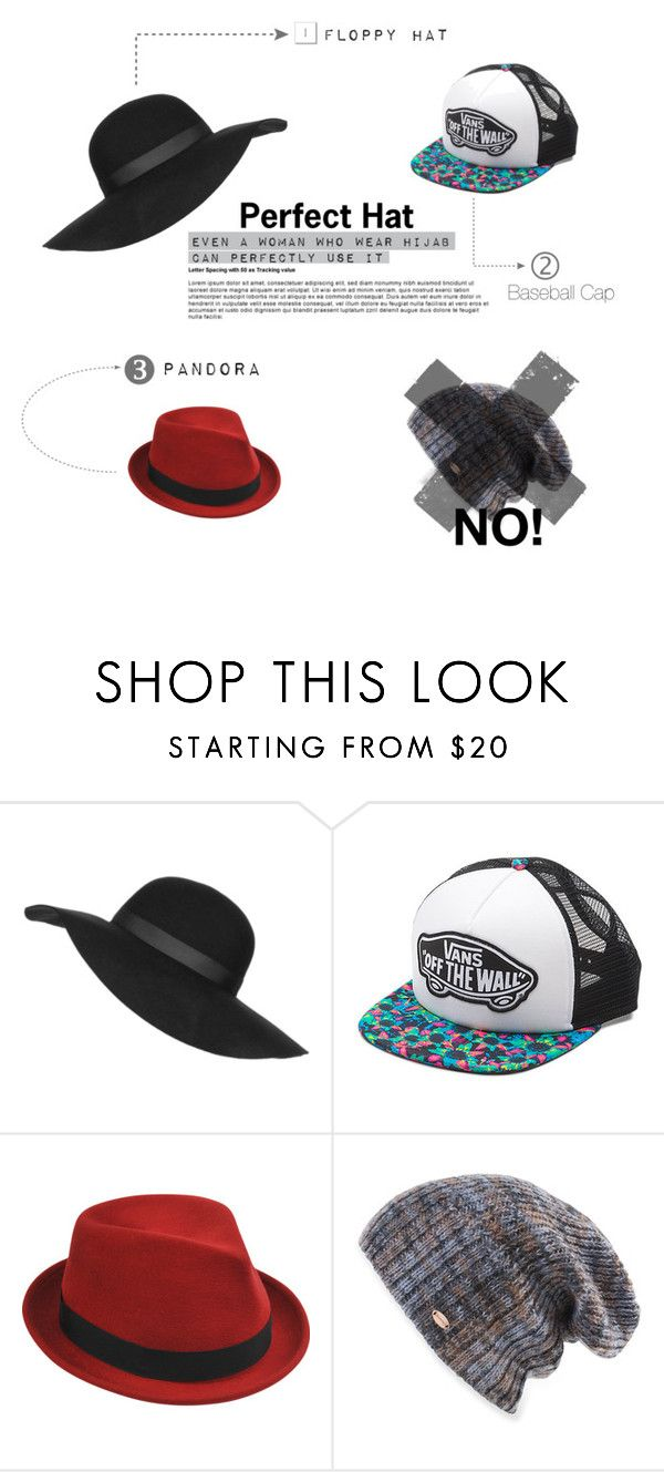 """""""Perfect Hat for Hijabers"""" by unemenel on Polyvore featuring Topshop, Vans, Stetson, Spacecraft, women's clothing, women, female, woman, misses and juniors"""