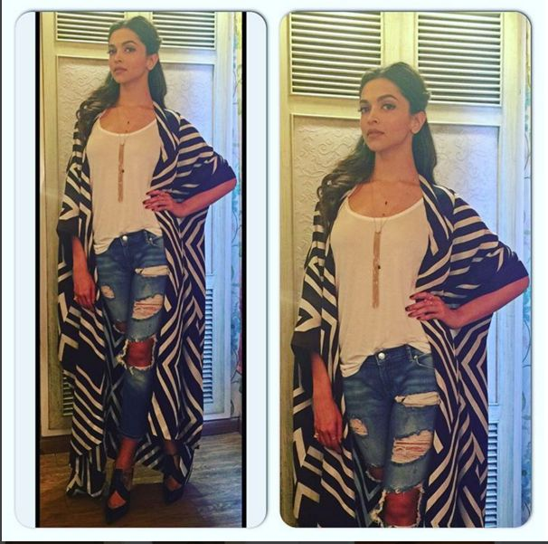 All of Deepika's Looks from the Tamasha Promotions ...