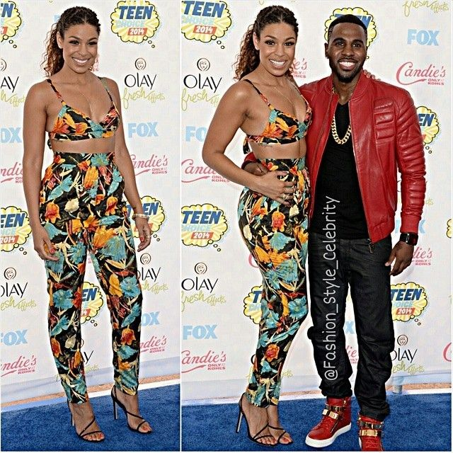 FASHION FROM TEEN CHOICE AWARDS 2014#jordinsparks #jasonderulo #hollywood #actor #actress #teenchoice #teenchoice2014 #sandals #bluedress #doll #jumpsuit #fashion #style #celebrity #look #lookbook #beautiful #gorgeous #trend #trendy #chic #ootd #outfit #instastyle #stylish #accessories #heels #shoes #model #supermodel... - Celebrity Fashion
