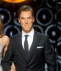 (gif) Benedict, trying to keep it cool. This makes me extremely happy.