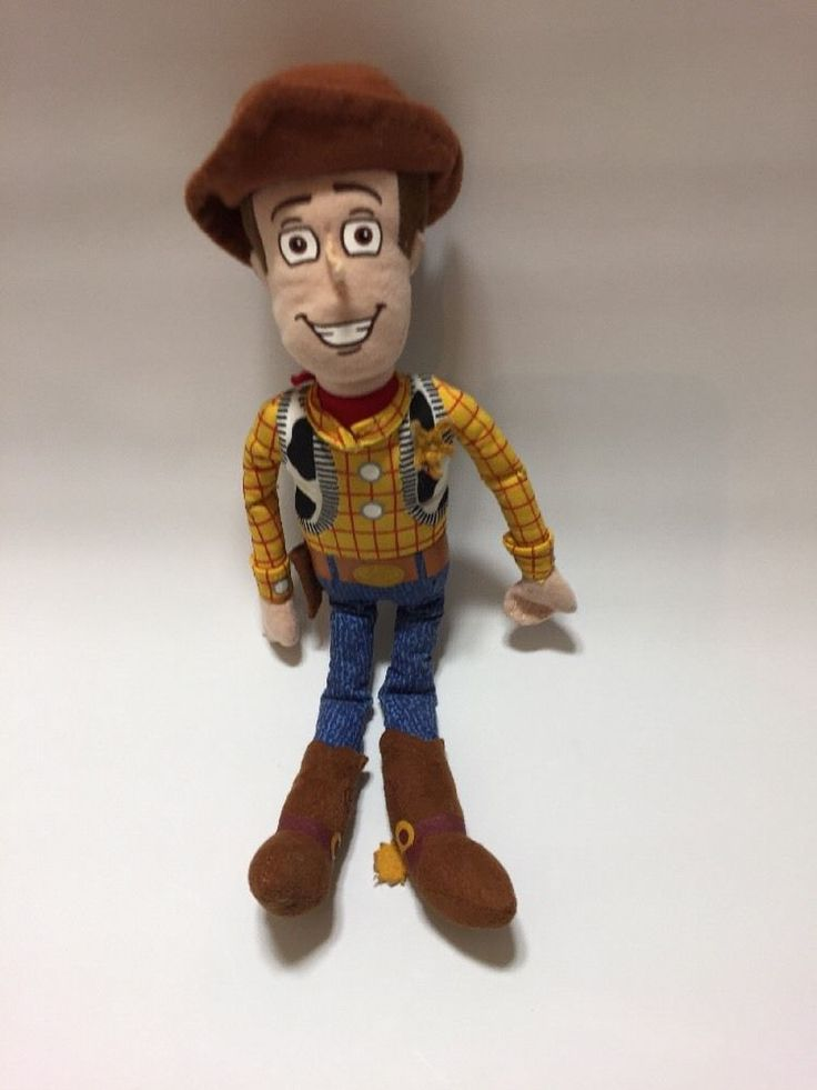 "Toy Story Woody 11"" / 28cm Soft Toy Plush Disney Genuine  in Toys & Games, TV & Film Character Toys, Film & Disney Characters 