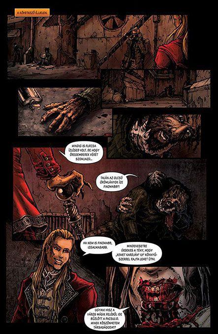 Bloodlust 3. szám, 17. képregényoldal
