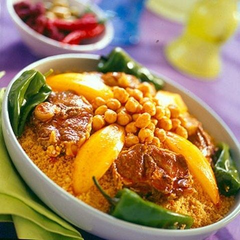 Libyan couscous is the best couscous I've ever had, delicious! كسكسي ليبي