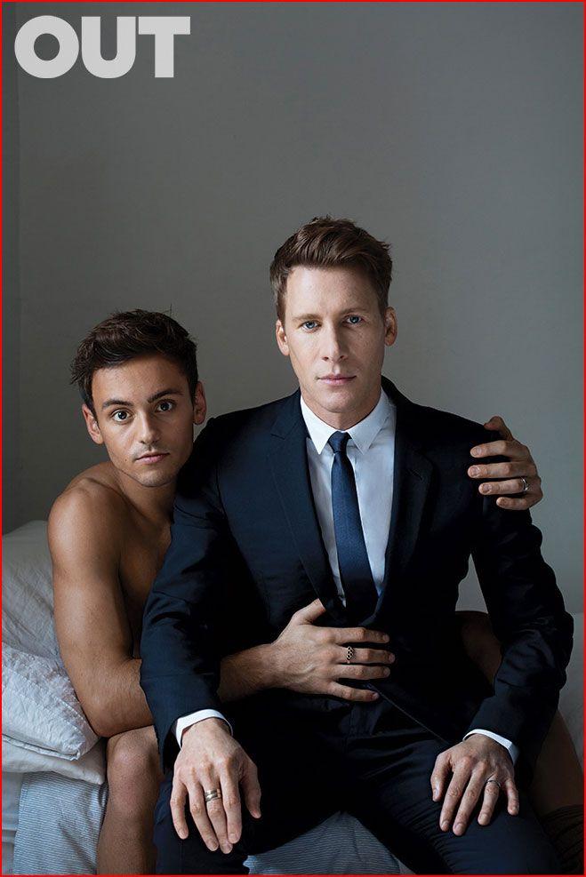 Дастин Лэнс Блэк и Том Дэйли: история любви (фото) > Новости на гей сайте BlueSystem
