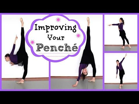 ▶ Improving Your Penché   Kathryn Morgan - YouTube Want to get that beautiful penché you've always dreamed of? Kathryn will help you out!