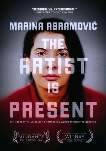 Marina Abramovic The Artist Is Present Dvd 2011 Best Buy Marina Abramovic Art Documentary Documentaries