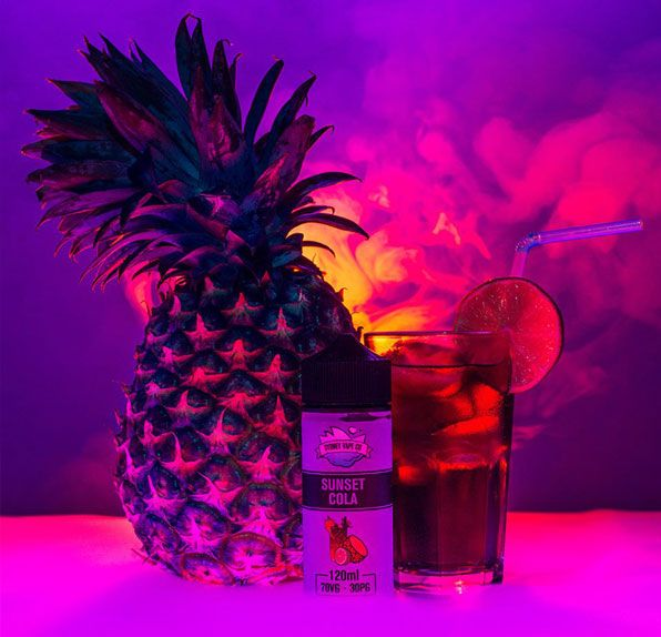Sunset Cola By Sydney Vape Co Eliquid Review Eliquid Flavors