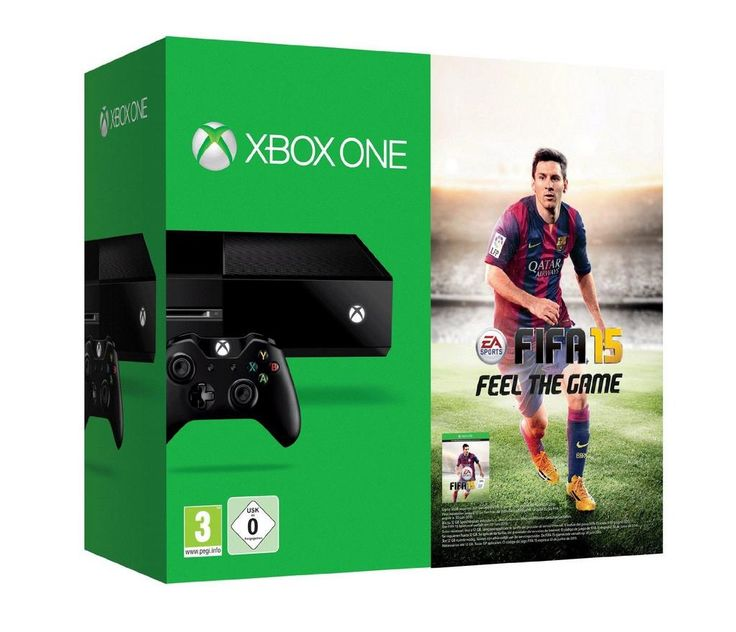 TRENDING ON AMAZON Xbox One Console with FIFA 15 Pre-order £329