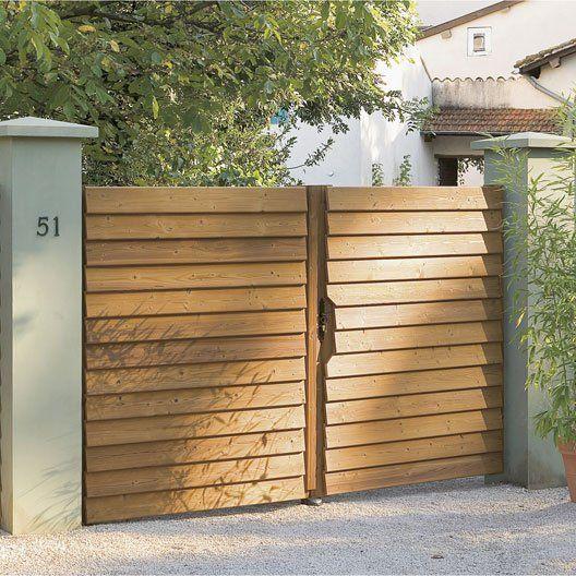 1000 ideas about portail en bois on pinterest barri re for Petit portillon en bois