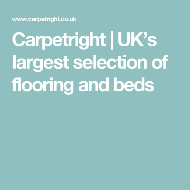 Carpetright | UK's largest selection of flooring and beds