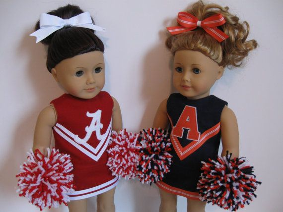 Love these--where are these great seamstresses when my customers ask for custom cheer sets, lol.