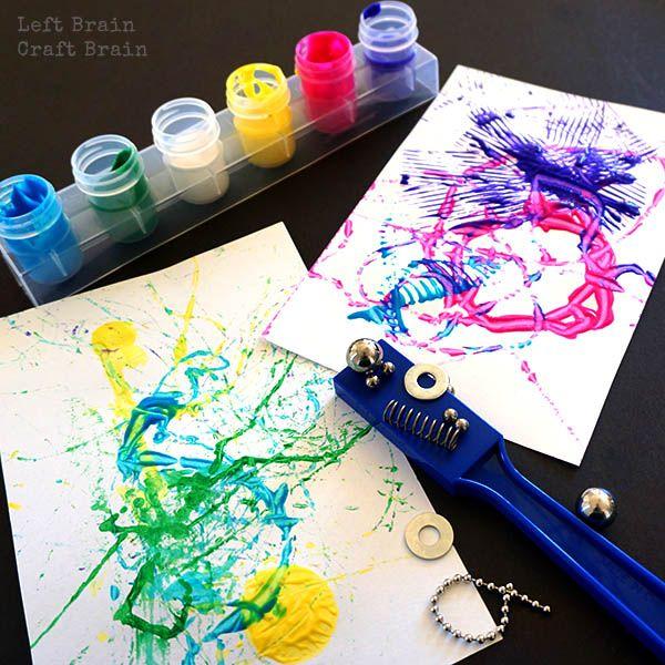 Magnet Painting Left Brain Craft Brain FB4