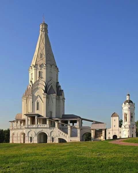 Biserică în parcul Kolomenskoye.