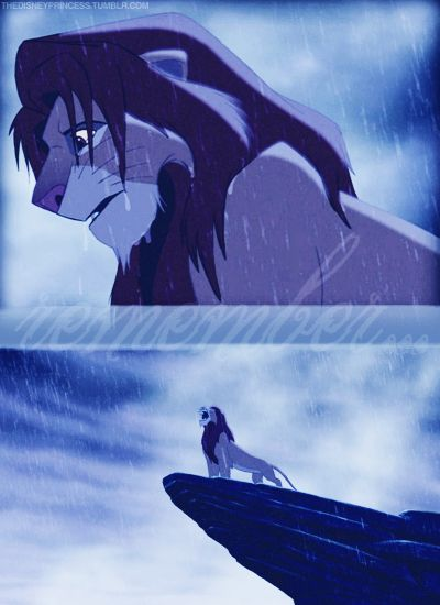 Lion King. This, not the dead-of-mufasa-part, is the part that actually maes me cry like a baby.