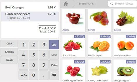 Odoo eCommerce app