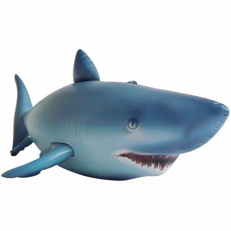 Inflatable Shark, Multicolor