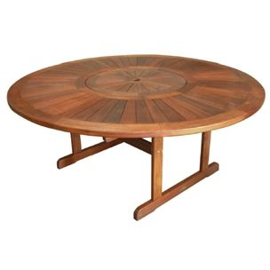 Tek Round Table with Lazy Susan