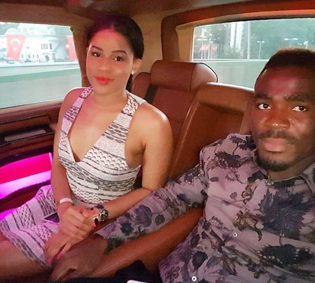 Image result for Emmanuel Emenike's Beauty Queen Fiancee, Iheoma Nnadi