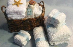 Cómo hacer toallas en miniatura - How to: miniature towels