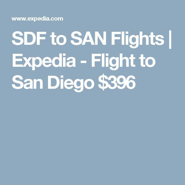 SDF to SAN Flights | Expedia - Flight to San Diego $396