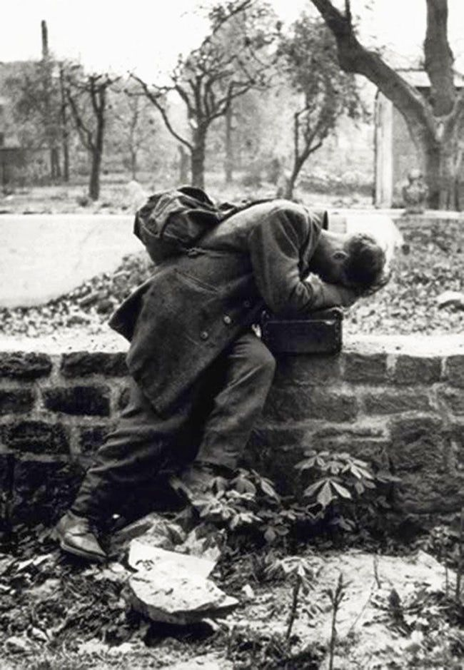 A German Soldier Returns Home  is listed (or ranked) 24 on the list 36 Rare Photos From World War II