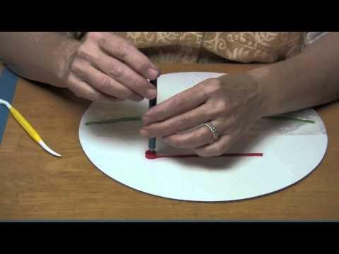 Quilling a Gumpaste Poinsettia