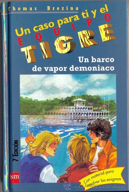 """""""Un barco de vapor demoniaco"""" de  Thomas Brezina. Título seleccionado en la Guía de Lectura Infantil y Juvenil sobre Transportes"""