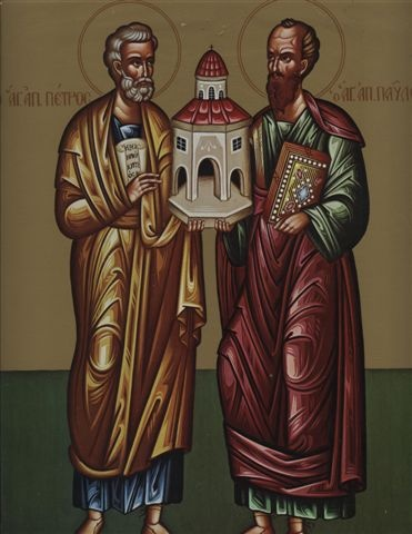 Feast of the Saints Peter and Paul; Christian Religious Observance; June 29; Commemorates their martyrdoms. Peter was one of the 12 Apostles and was named their chief by Jesus; was bishop of Rome and the first pope. Paul was at first a persecutor of Christians but was converted by a vision; was thereafter a great missionary and a prolific writer of epistles. By tradition, Paul and Peter were martyred in Rome on the same day, Paul by beheading and Peter by crucifixion.