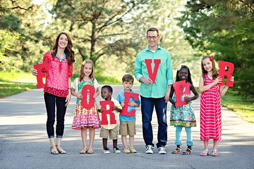 FOREVER adoption photo! This is EXACTLY how I want my family to look one day <3 <3