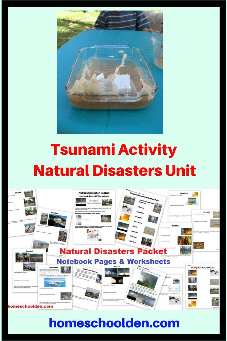 Tsunami Activity Natural Disasters Unit This Was One Of The Hands On Activities We Did During Our Natur Natural Disasters Natural Disasters For Kids Tsunami [ 1102 x 735 Pixel ]