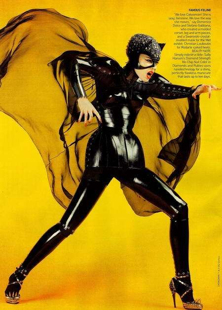 Craig McDean from Vogue and video by Trend Hunter about the Super Hero Couture & Monster Fashion