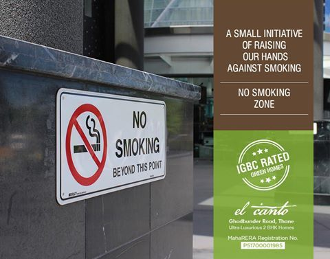 #IGBCRatedGreenHomes  The project comes under No Smoking Zone  El Canto - Ghodbunder Road, Thane (W) Ultra-Luxurious 2 BHK Music Inspired Homes  #Maharera Registration Number: P51700001985  http://dedhiagroup.com/residential-dedhia-elcanto.aspx  #dedhia #dedhiagroup #realestate #luxury #luxurioushouse #realtor #propertymanagement #bestpropertyrates #homesellers #bestexperience #homebuyers #dreamhome #thane #ghodbunder