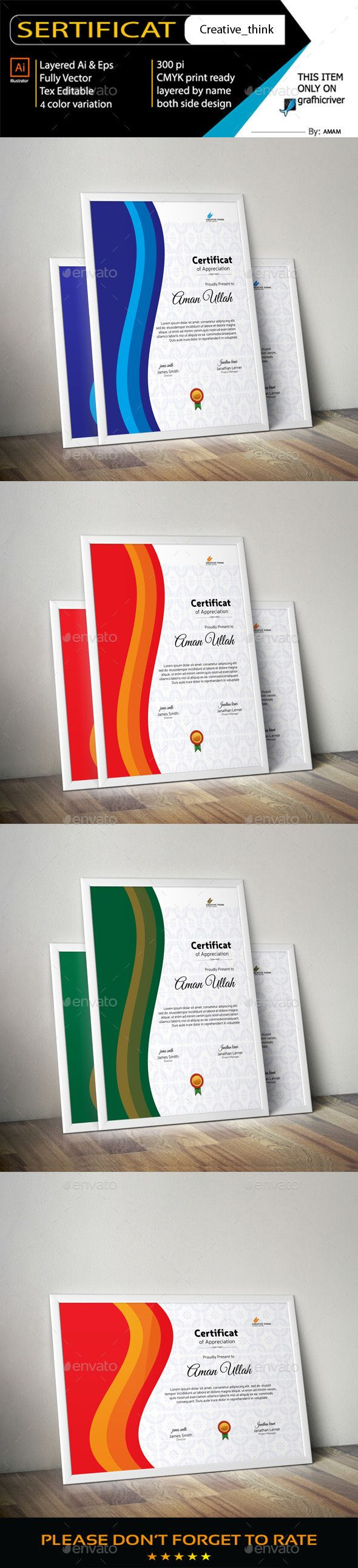 #Certificate - Certificates Stationery Download here: https://graphicriver.net/item/certificate/19258863?ref=alena994