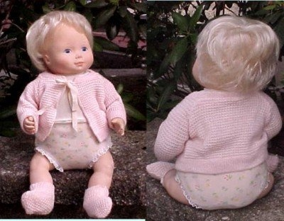 My favorite doll... Baby Beth.