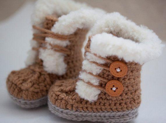 Baby Uggs Crochet Pattern Net101