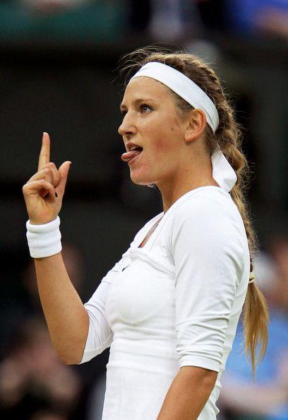 Victoria Azarenka Photos: The Championships - Wimbledon 2011: Day Five