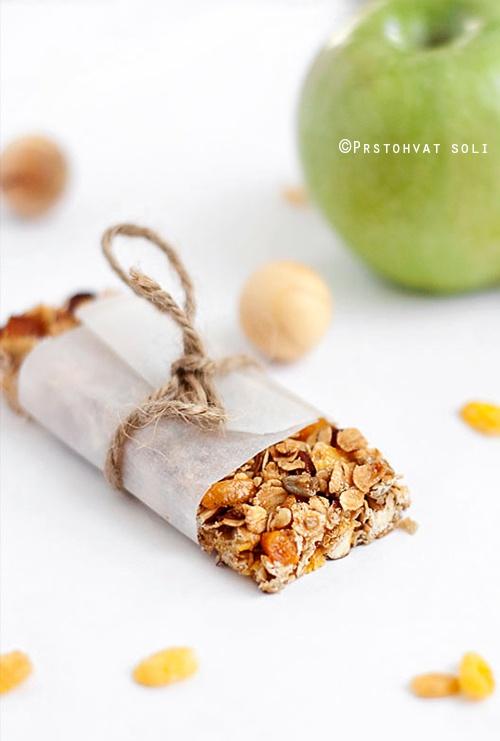 Prstohvat soli: Granola bars ili Musli pločice