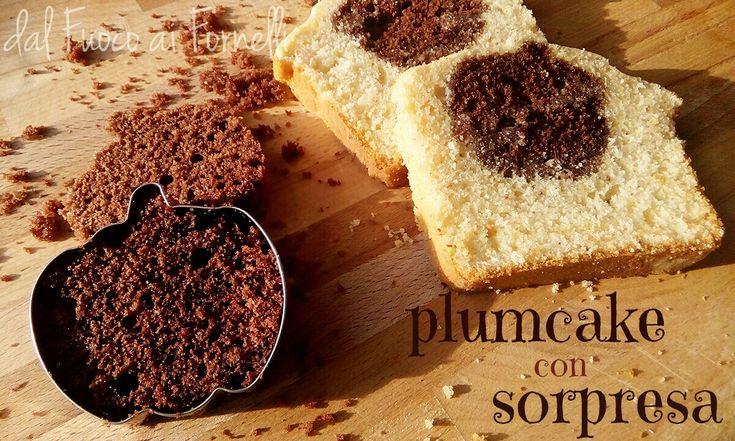Rieccoci con un delizioso plumcake alla vaniglia al cui interno è nascosta una sorpresa al cioccolato. Buonissimo per la colazione, divertente per i bimbi!