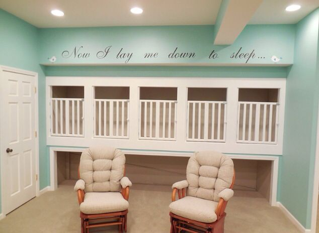 Built In Cribs Church Nursery Reno Pinterest Babies
