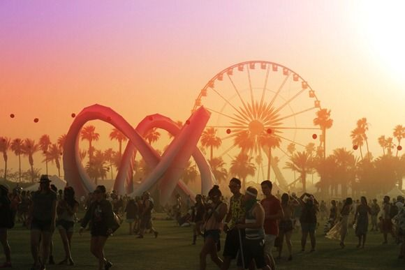 We love the Ferris Wheel at Coachella! Best view in the house! We don't have a ferris wheel, but we do have the mountains! Check out www.RendezvousBC.com!