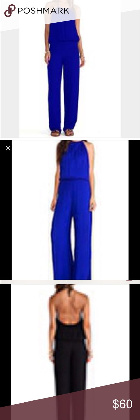Young fabulous and broke blue jumpsuit Young fabulous and broke blue jumpsuit, New but has been altered the inseam is 30. I've never had a chance to wear it. Young Fabulous & Broke Dresses