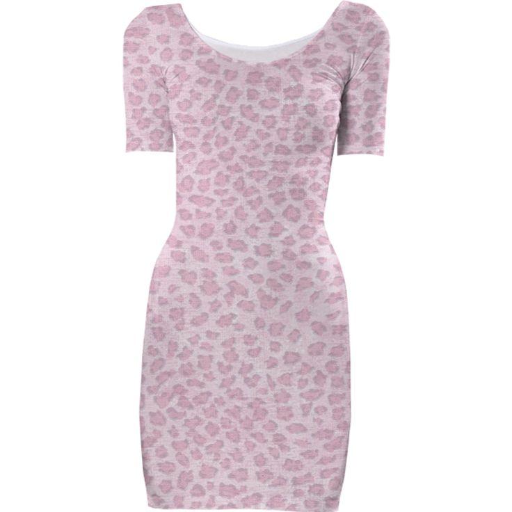 ArtyZen Studios Pink Print Dress - Pink Leopard Print Dress from Print All Over Me - $85 - Thanks for sharing! #leopardprint #pink