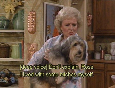 """When she related to this dog. 