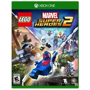 It's about TIME! Join your favorite Super Heroes and Super Villains from different eras and realities as they go head-to-head with the time-traveling Kang the Conqueror in the all-new, original adventure, LEGO Marvel Super Heroes 2! Play as the Guardians of the Galaxy, Spider-Man, Thor, Hulk, Black Panther, Captain Marvel, Doctor Strange, Carnage, Green Goblin and dozens of other Marvel Super Heroes and Villains in this cosmic battle across the time-tossed city of Chronopolis! Trav...