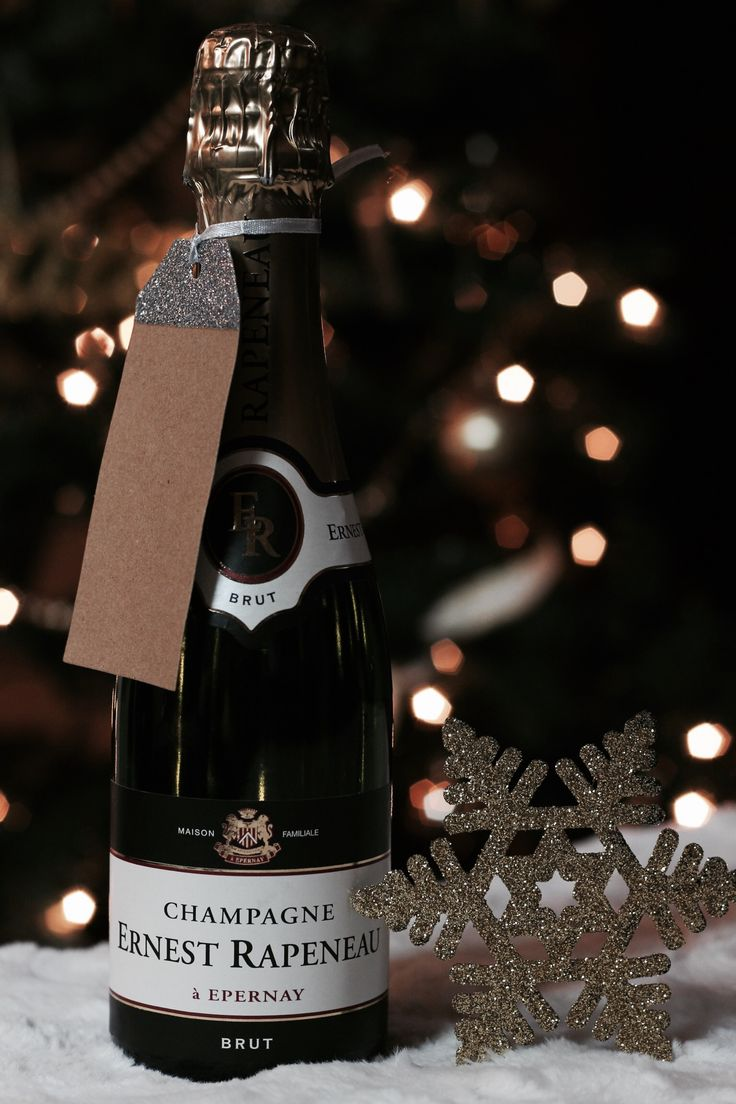 Ernest Rapeneau Champagne //  Wrapped With A Beau • 2015 Holiday Gift Guide — the BEAU