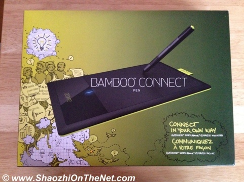My new Wacom Bamboo drawing tablet.