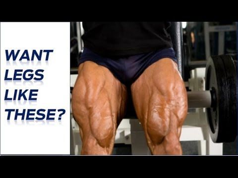 I consider this one of the toughest and best leg workouts on the planet because it hits all the muscle fibers in your legs in a very short period of time usi...