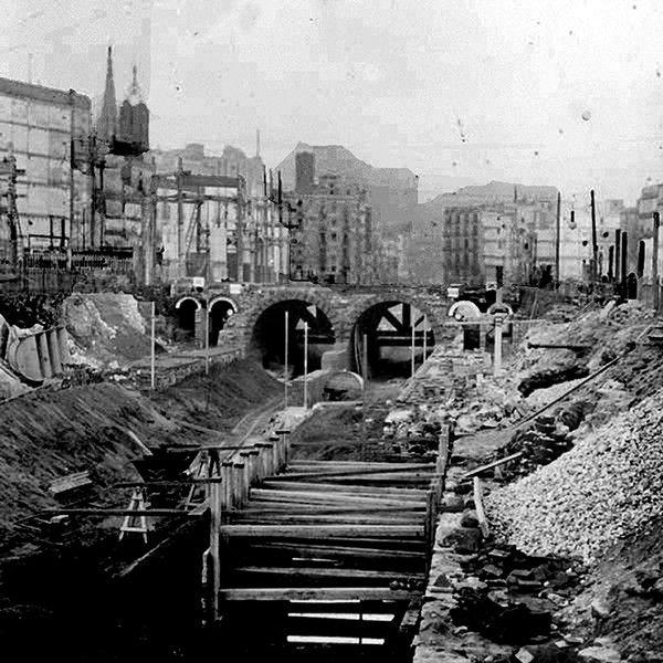 Vía Layetana - Via Laietana - La Barcelona de antes